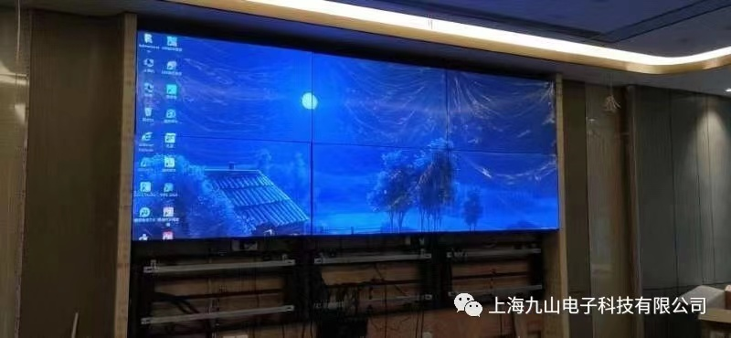 【VITROLIGHT】-The 55-inch ultra-narrow edge splicing screen is applied to a restaurant in Zhenjiang