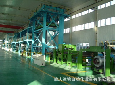 Electric control system of galvanization production line