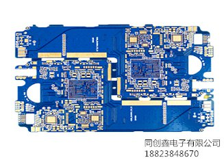 four layer impedance immersion gold printed board